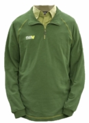 Olive Green 1/4 Zip Pullover