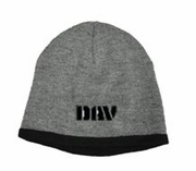 Oxford/Black Beanie Cap