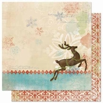 Blitzen Collection Blitzen 12 x 12 Double-Sided Scrapbook Paper by BoBunny