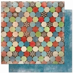 Blitzen Collection Blitzen Dot Double-Sided 12 x 12 Scrapbook Paper by BoBunny
