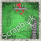 Sightseeing Collection Italy 12 x 12 Scrapbook Paper by Scrapbook Customs