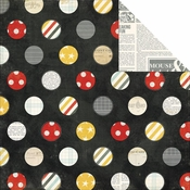 Say Cheese Collection Believe 12 x 12 Double-Sided Scrapbook Paper by Simple Stories