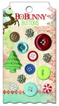 Blitzen Collection Decorative Buttons by Bo Bunny - Pkg. of 13
