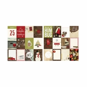 Cozy Christmas Collection 12 x 12 Double-Sided 3 x 4 Journaling Card Elements by Simple Stories