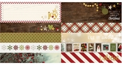 Cozy Christmas Collection 12 x 12 Double-Sided Border & 4 x 12 Title Strip Element by Simple Stories