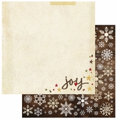 Cozy Christmas Collection Oh Joy 12 x 12 Double-Sided Scrapbook Paper by Simple Stories