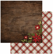 Cozy Christmas Collection Wonder 12 x 12 Double-Sided Scrapbook Paper by Simple Stories