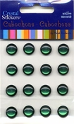 Dark Green 10mm Cabochons by Mark Richards