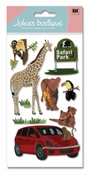 Drive Thru Safari Scrapbook Embellishment by Jolee's Boutique