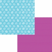 Easter-Rific Collection Egg Hunt Double-Sided 12 x 12 Scrapbook Paper by Moxxie