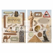 Egypt Chipboard Embellishments by Paper House Productions
