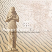 Egypt Map 12 x 12 Scrapbook Paper by Paper House Productions