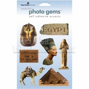 Egypt Self-Adhesive Photo Gems by Paper House Productions