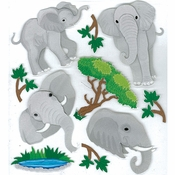 Elephants Scrapbook Embellishment by Jolee's Boutique