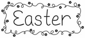 For Peep's Sake Collection Easter Acrylic Stamp