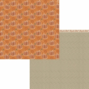 Forever Fall Collection Pick of the Patch Double-Sided 12 x 12 Scrapbook Paper by Moxxie