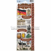 Germany Collection Cardstock Sticker Sheet by Paper House Productions