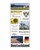 Germany Collection Jumbo Sticker Sheet