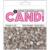 "Giraffe 3/8"" Candi Dots by Craftworkcards - 10 grams (.35 oz)"