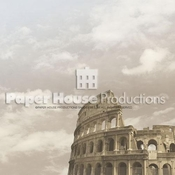 Italy Collection Roman Colosseum 12 x 12 Scrapbook Paper by Paper House Productions