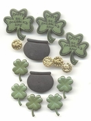 Irish Charm Button Collection