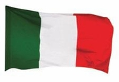 Italian Flag Die cut