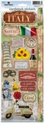 Italy Collection Italy Cardstock Sticker Sheet by Paper House Productions