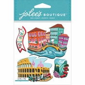 Italy Italia Scrapbook Embellishment by Jolee's Boutique