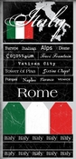 Italy Scratchy Stickers by Stamping Station (c)