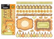 Orchard Harvest Collection Orchard Harvest Die cut Frames and Borders by Creative Imaginations - Pkg. of 19