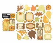 Orchard Harvest Collection Orchard Harvest Die-Cut Shapes by Creative Imaginations - Pkg. f 28