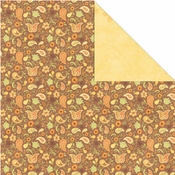Orchard Harvest Collection Pear Paisley 12 x 12 Double-Sided Scrapbook Paper by Creative Imaginations
