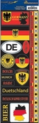 Passports Collection Germany Die Cut Stickers by Reminisce