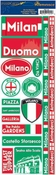 Passports Collection Milan Italy Die Cut Stickers by Reminisce