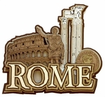 Rome Coliseum Laser Cut by Paper Wizard