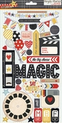 Say Cheese Collection Chipboard Embellishment by Simple Stories - 39 Chipboard Stickers