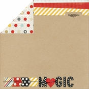 Say Cheese Collection Magic 12 x 12 Double-Sided Scrapbook Paper by Simple Stories