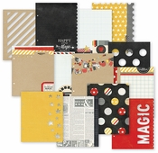 Say Cheese Collection SN@P! Studio 12 SN@P! Pages by Simple Stories - Pkg. of 12