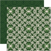 Shamrock Collection Celtic Knot Double-Sided 12 x 12 Scrapbook Paper by Reminisce