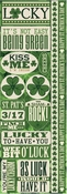 Shamrock Collection Die Cut Stickers by Reminisce