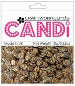 "Tiger 3/8"" Candi Dots by Craftworkcards - 10 grams (.35 oz)"