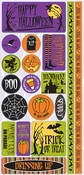 Witches Brew Collection Self-Adhesive Die-Cut Icon Stickers by Reminisce