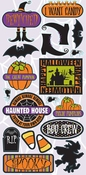 Witches Brew Collection Phrases Self-Adhesive Die-Cut Stickers by Reminisce