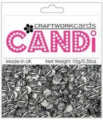 "Zebra 3/8"" Candi Dots by Craftworkcards - 10 grams (.35 oz)"
