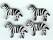 Zebra Brads by Eyelet Outlet - Pkg. of 12