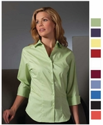3/4 SleeveTailored Stretch Blouse