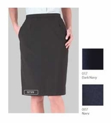 Classic Polyester Uniform Skirt | Front Desk Uniform