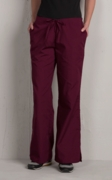 Flare Leg Uniform Pants
