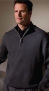 Mens Quarter Zip Sweater
