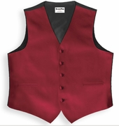 Satin Uniform Vests
